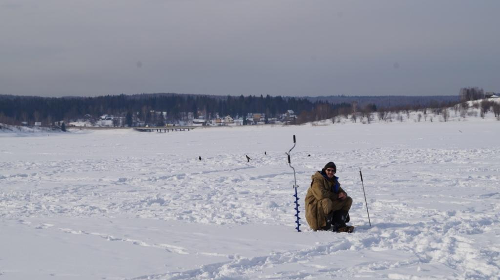 Река чусовая рыбалка зимой